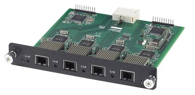 Tarjetas de fibra para switches