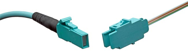 Interfaz de fibra óptica MXC