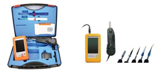 Kit de inspección y limpieza con sonda
