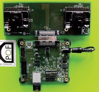 ejemplo práctico de tecnología POF