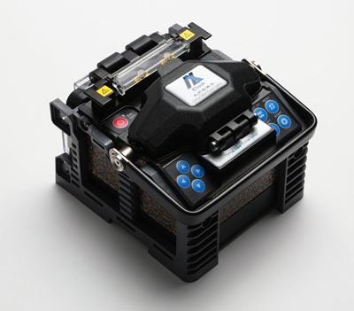 Mini-fusionadora de fibra óptica