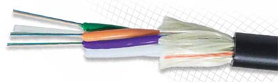 Cable ADSS sin gel con doble cubierta