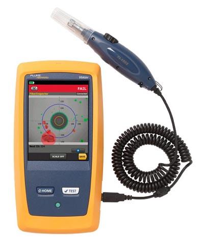 Sistema para inspección de fibras ópticas