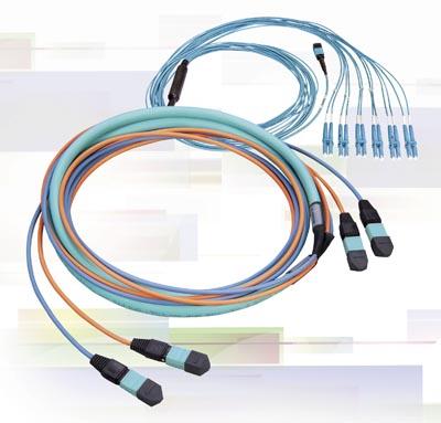 Conjuntos de fibras pre-terminados