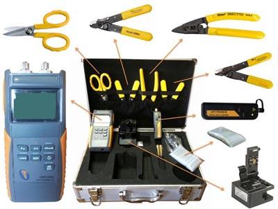 Maletín de herramientas para FTTH