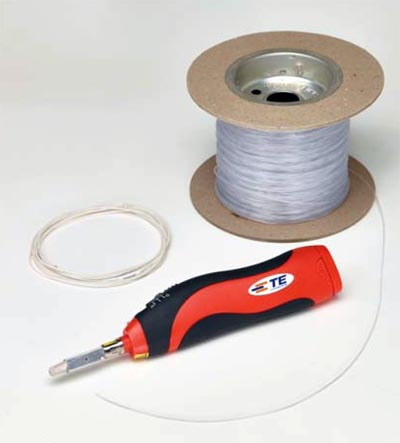 Sistema de instalación invisible de fibra