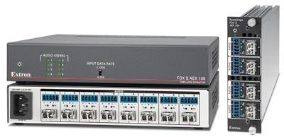 Extractores de audio por fibra óptica