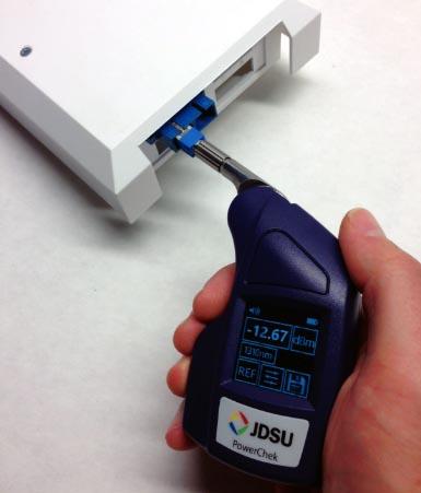 Medidor de potencia óptica con Bluetooth