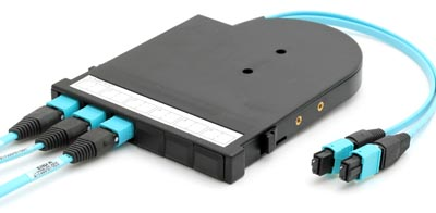 Sistema de cableado por fibra óptica