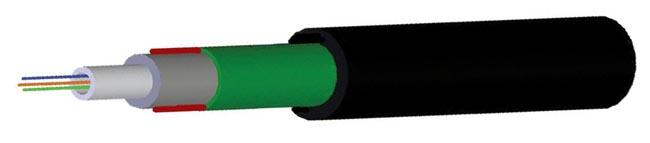 Cable blindado drop