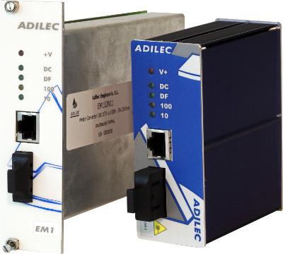 Conversores de medio Ethernet industrial