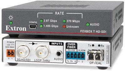 Transmisor de fibra óptica 3G-SDI