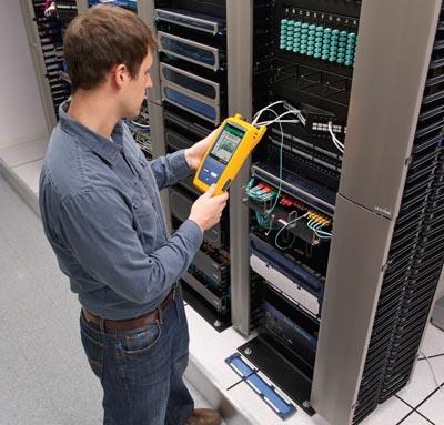 Caracterización de la instalación de fibra óptica