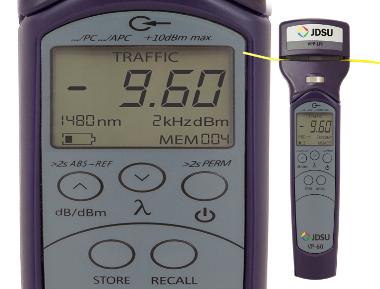 Identificador medidor de potencia óptica