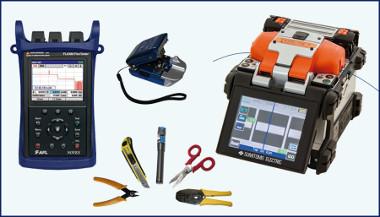 Kit para instalador de fibra óptica