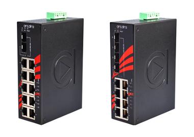 Switches gigabit con alimentación PoE+