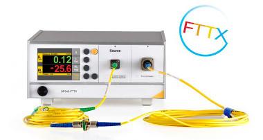 Testeador de componentes FTTx