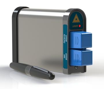 Mini OTDR ultra compacto