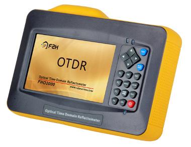 mini OTDRs con pantalla táctil