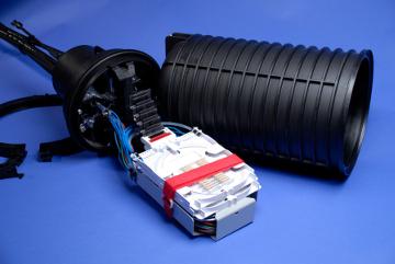 torpedos con componentes ópticos pasivos