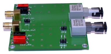 Kit de evaluación de fibra óptica industrial