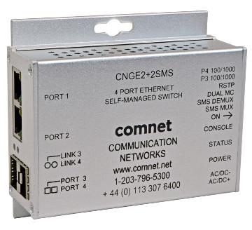Dispositivo para conectar cámaras IP en anillo