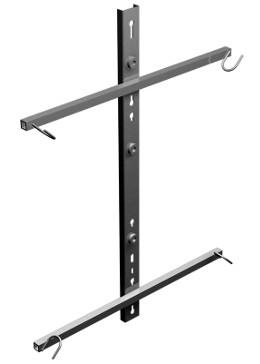 Brackets de aluminio para armarios de empalme