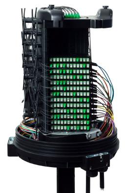 Torpedo para distribución de fibra óptica