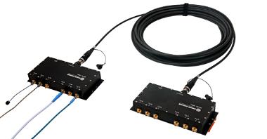 Radiofrecuencia y fibra óptica combinadas