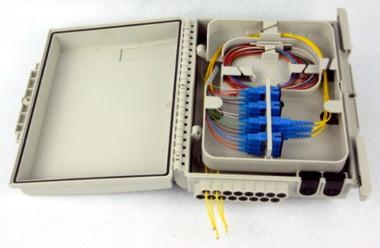 Caja de distribución para 16 fibras IP65