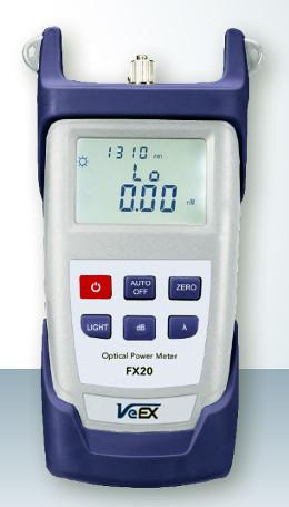 Medidores de potencia óptica manuales