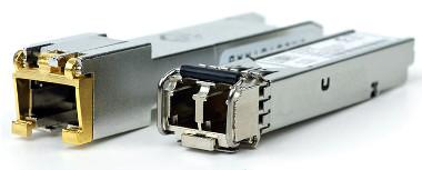 Transceivers ópticos compatibles