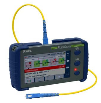 Analizador de redes de fibra óptica
