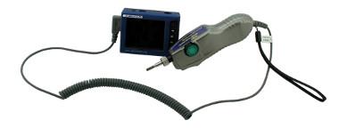 microscopio portátil para conectores