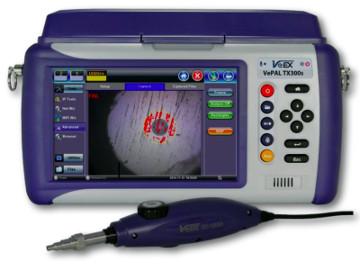 Inspección de conectores de fibra óptica