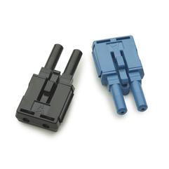 Conectores dúplex POF para transceptor Ethernet