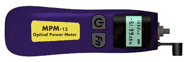 Mini medidor de potencia óptica con conector universal