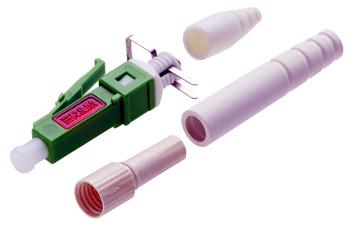 conector de fibra óptica para montaje en campo
