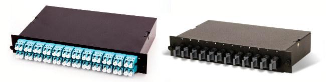 Módulos de alta densidad para fibra óptica