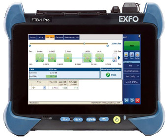 OTDRs para medición de fibras ópticas