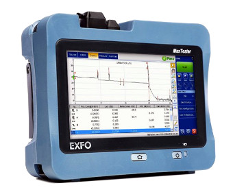 OTDR QUAD con formato Tablet