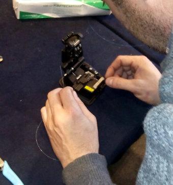 Curso de fibra óptica y cableado en Málaga