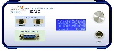 Controlador de polarización de modulador IQ