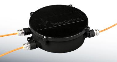 Protector para cable de fibra óptica