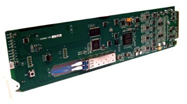 Tarjetas de fibra óptica para rack