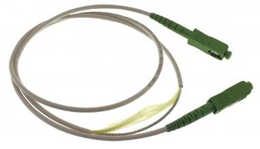 Latiguillos armados de fibra óptica