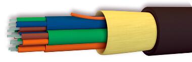 Cable de fibra óptica micro-táctico