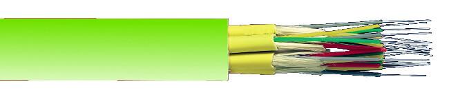 Fibra óptica multimodo OM5