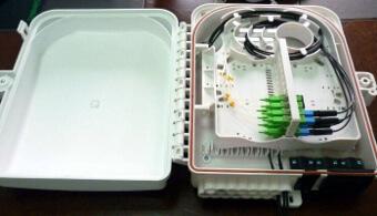 caja mural IP66 para fibras ópticas