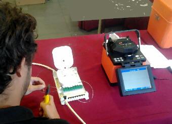Curso para instalaciones FTTH en Los Barrios Cádiz